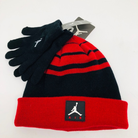 32987012d7c906 Jordan Accessories | Nike Air Youth Glove And Beanie Hat Set | Poshmark